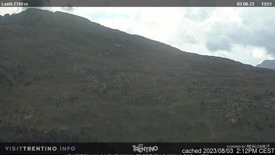 Ski Area Alpe Lusia webcam om 2uur s'middags vandaag