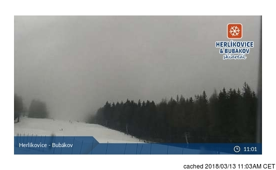 Herlikovice Webcam gestern um 14.00Uhr