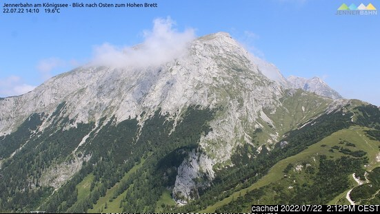 Berchtesgaden webcam at 2pm yesterday