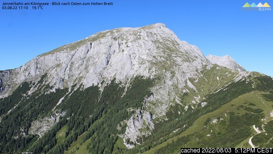 Live Snow webcam for Berchtesgaden