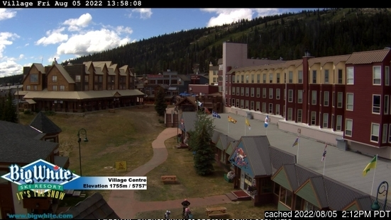 Big White Webcam gestern um 14.00Uhr