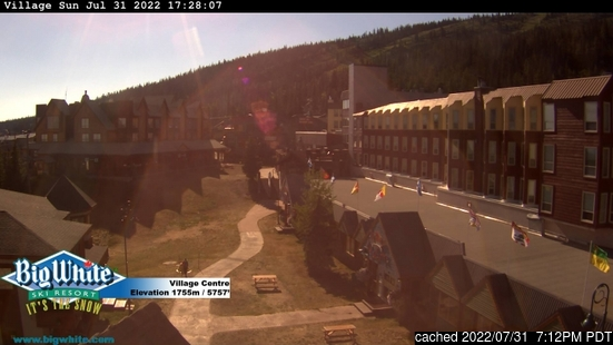 Live Snow webcam for Big White