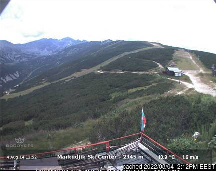 Borovets webcam at lunchtime today