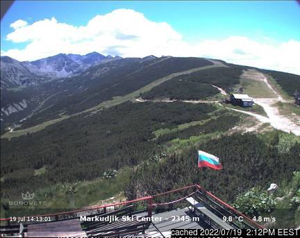 Borovets webcam at 2pm yesterday