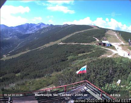 Live webcam for Borovets