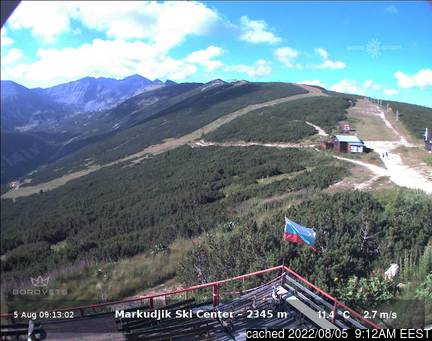 Live Snow webcam for Borovets