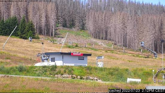 Braunlage Wurmberg webcam at 2pm yesterday