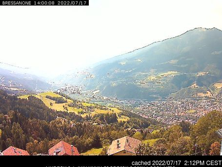Plose Brixen webcam at lunchtime today
