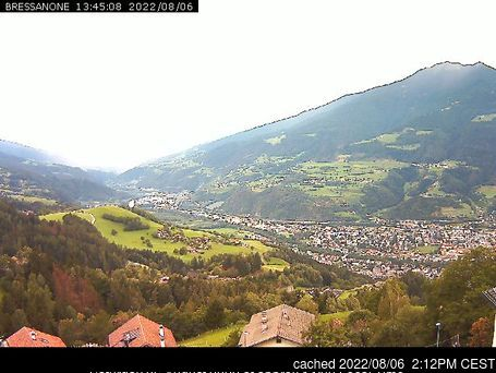 Plose Brixen webcam at 2pm yesterday