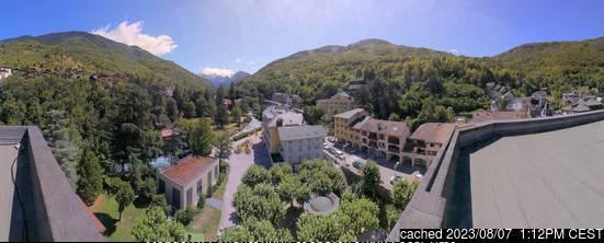 Κάμερα σε Brides Les Bains σήμερα το μεσημέρι