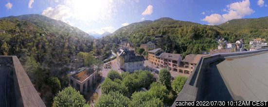 Live Snow webcam for Brides Les Bains