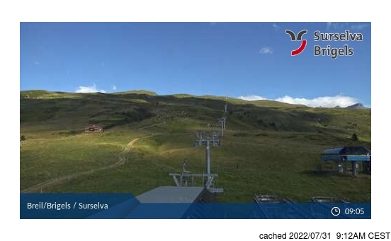 Live Snow webcam for Brigels-Waltensburg-Andiast