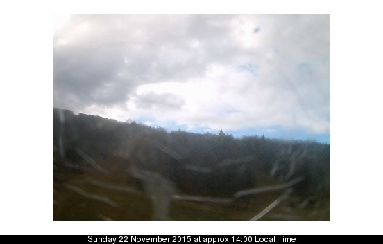 Bristol Mountain webcam at 2pm yesterday