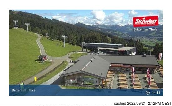 Webcam de Brixen im Thale à midi aujourd'hui