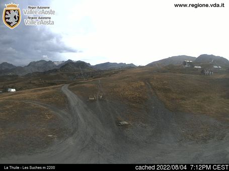 Live Snow webcam for Brusson