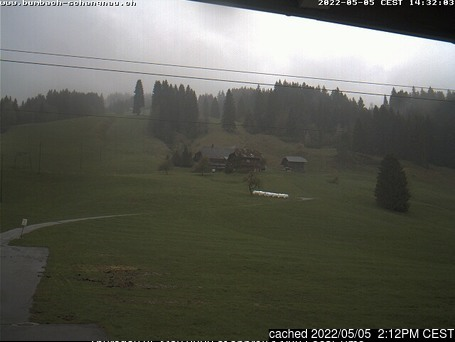 Bumbach / Schangnau webcam at 2pm yesterday