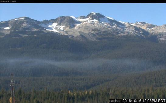 Ski Callaghan webcam at lunchtime today