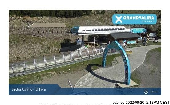 Webcam de Grandvalira-Canillo a las 2 de la tarde hoy