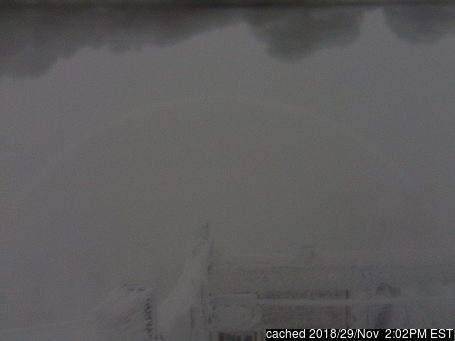 Cannon Mountain webbkamera vid kl 14.00 igår