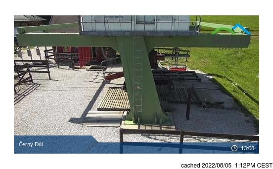Live Snow webcam for Černý Důl