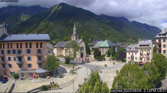 Webcam de Chamonix a las 2 de la tarde hoy