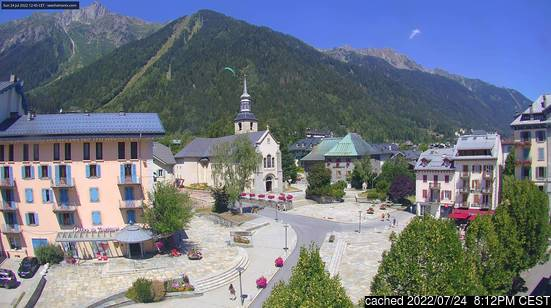 Chamonix webcam