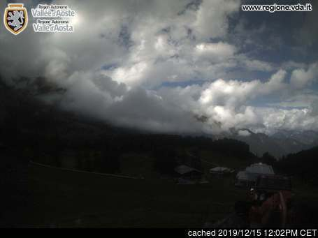 Champorcher webcam at lunchtime today