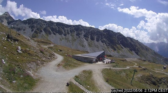 Chandolin webcam at lunchtime today