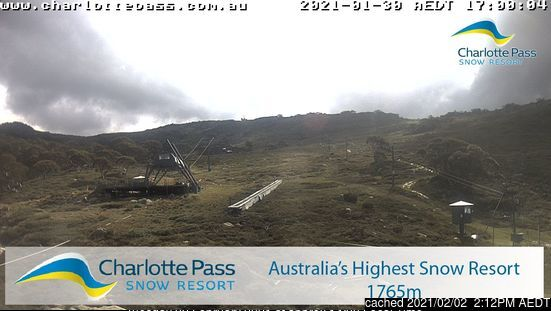 Charlotte Pass webcam all'ora di pranzo di oggi
