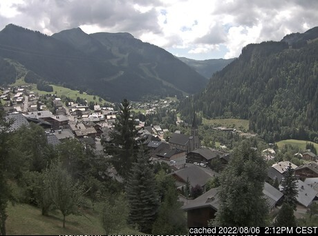 Chatel webcam at lunchtime today