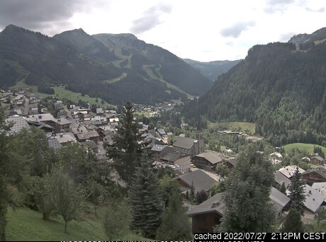 Chatel webcam all'ora di pranzo di oggi