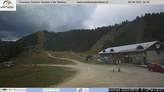 Live Snow webcam for Chiesa