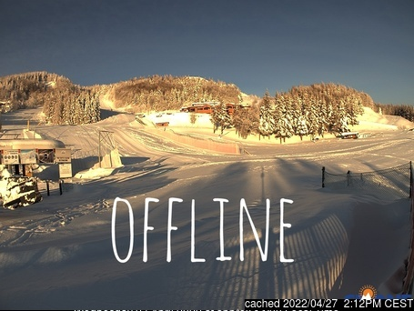 Cimone webcam at lunchtime today