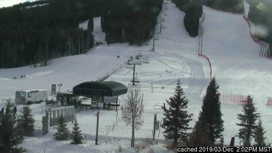 Copper Mountain webcam at lunchtime today