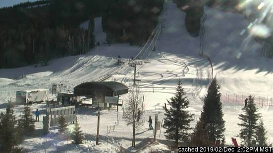 Copper Mountain webkamera ze včerejška ve 14 hod.