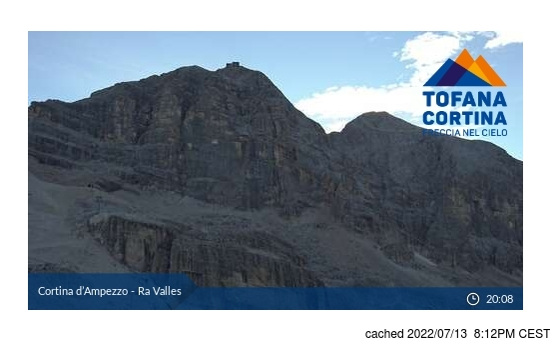 Live Webcam für Cortina