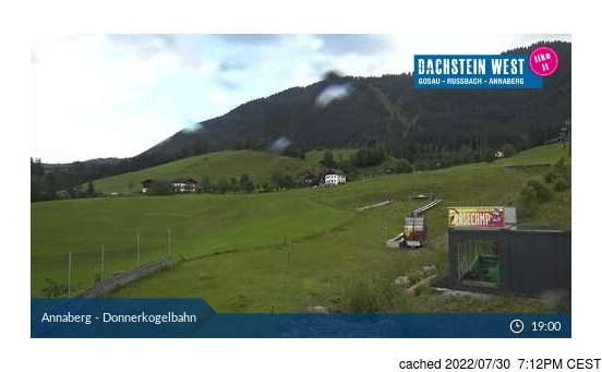 Live Snow webcam for Dachstein Glacier