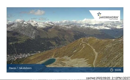 Davos Webcam gestern um 14.00Uhr