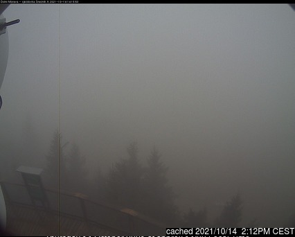 Dolní Morava webcam at 2pm yesterday