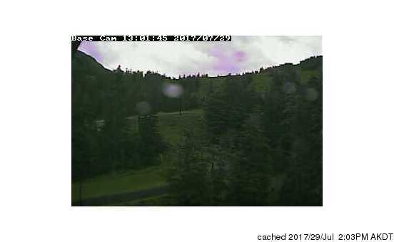 Eaglecrest Ski Area webcam at lunchtime today