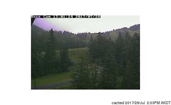 Eaglecrest Ski Area webcam at 2pm yesterday