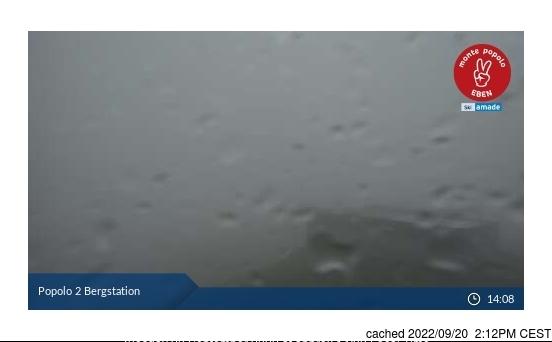 Eben/Monte Popolo webcam at 2pm yesterday