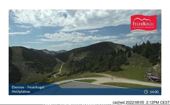 Ebensee am Traunsee webcam at lunchtime today