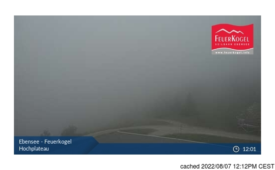 Live Snow webcam for Ebensee am Traunsee
