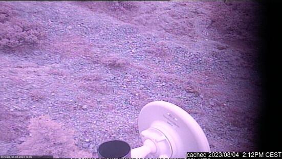 Ehrwald webcam alle 2 di ieri sera