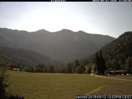 Eigenthal webcam at 2pm yesterday