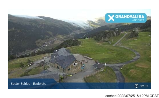 Live Snow webcam for Grandvalira-Soldeu