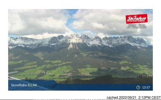 Ellmau webcam hoje à hora de almoço