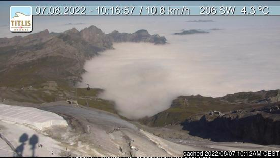 Engelberg webcam at lunchtime today