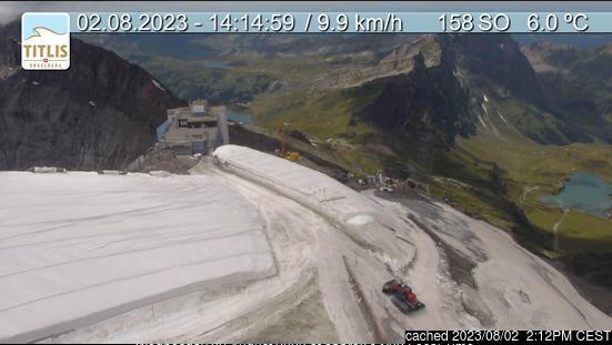 Engelberg Webcam gestern um 14.00Uhr
